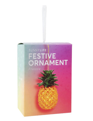Load image into Gallery viewer, Pineapple ornament