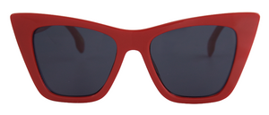 Load image into Gallery viewer, Red square cat eye glasses