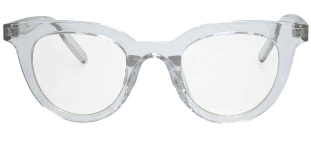 Clear trendy glasses