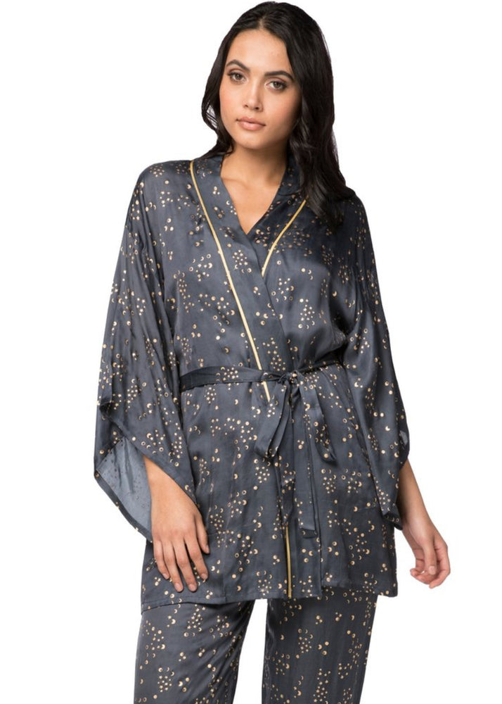 Load image into Gallery viewer, Moon Phase Kimono