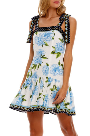 Load image into Gallery viewer, Floral Print Short Dress