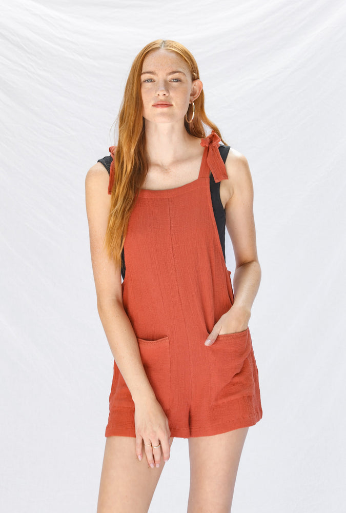 Blood Orange Romper
