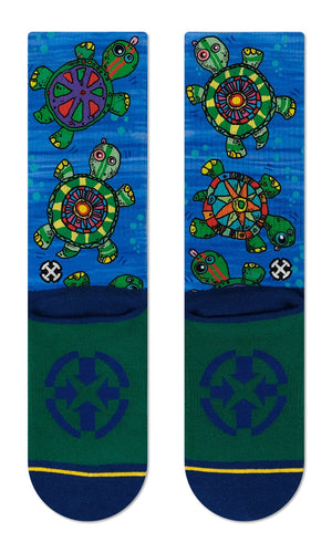 Load image into Gallery viewer, Turtle socks