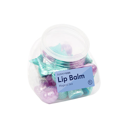 Lip balm in magical sea