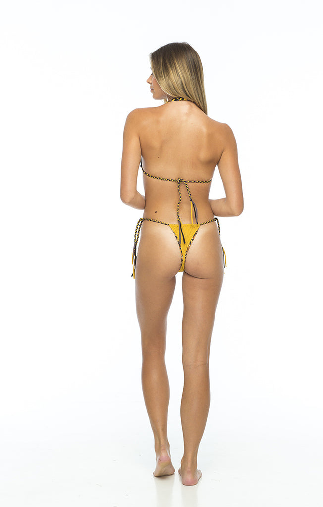 Braided tie side bottoms