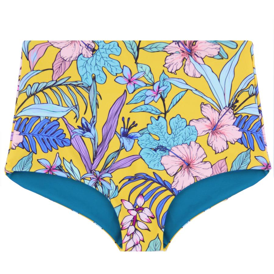 Load image into Gallery viewer, Nava Bikini Bottoms Medallion & Teal