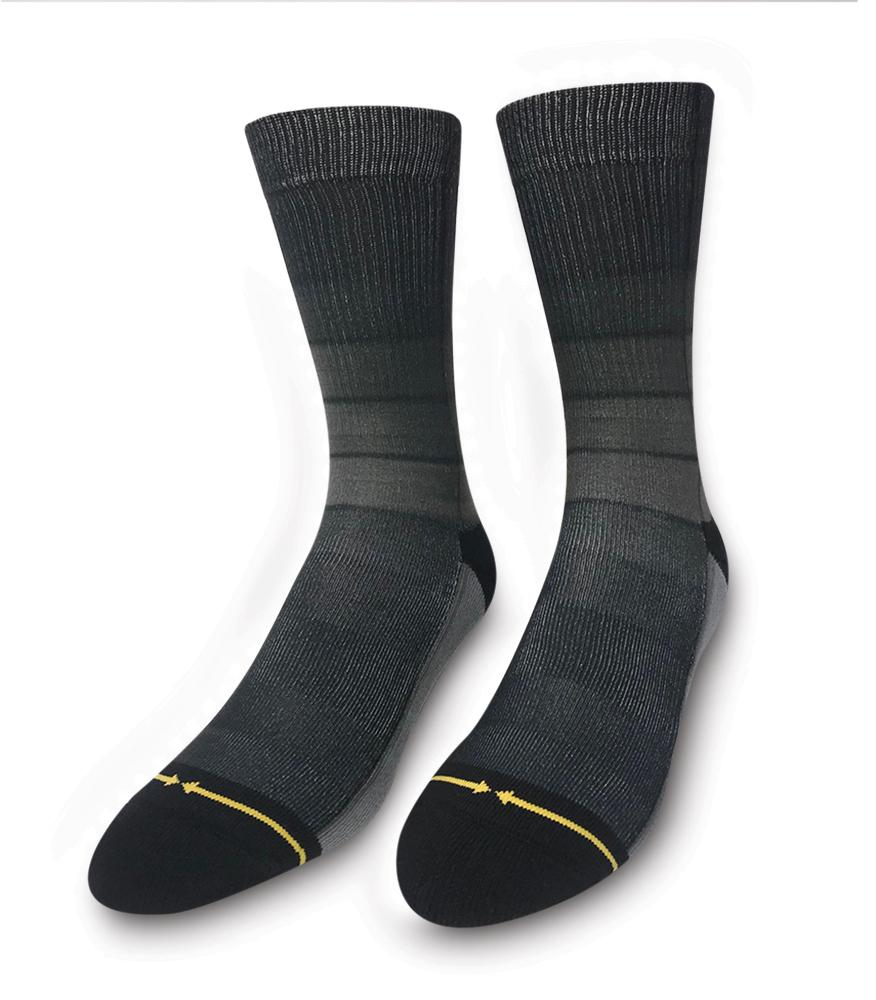 black ombre socks