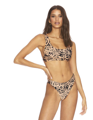 Load image into Gallery viewer, Leopard print sporty top