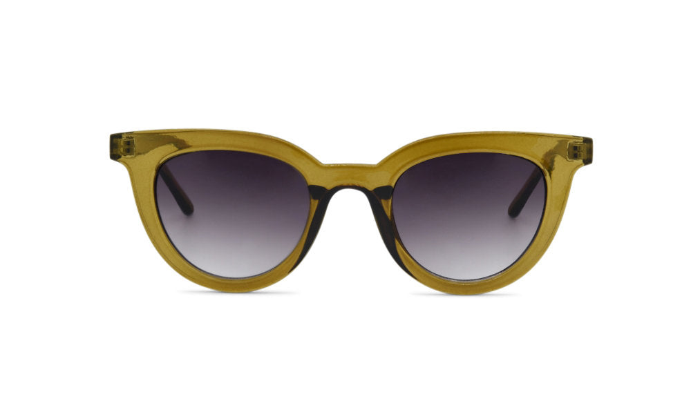 Army green trendy glasses