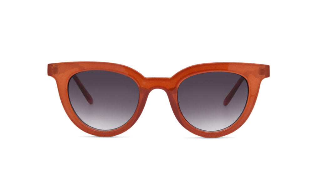 Copper trendy glasses
