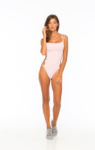 Whip Cream One Piece Baby Pink