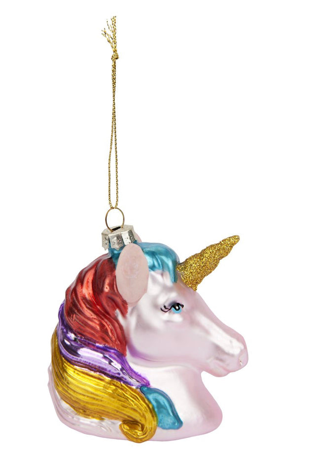 Load image into Gallery viewer, Unicorn ornament