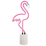 Flamingo neon light