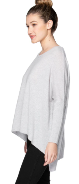 Glass Grey Cashmere Sweater