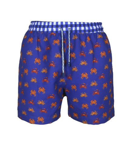 Orange Crab Swim Trunks