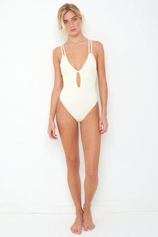 Isla One Piece Full Ivory