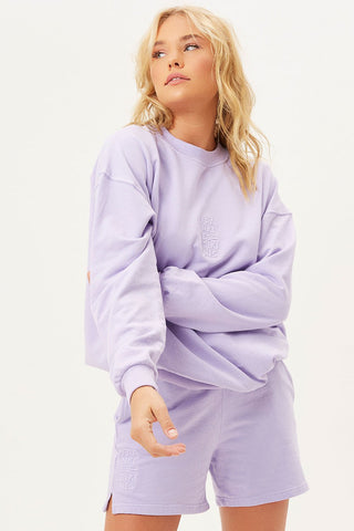Light Purple Crewneck Sweatshirt