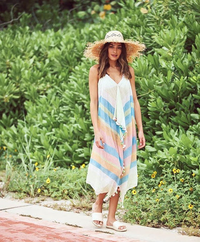 Lakeside Maxi Tassel Dress