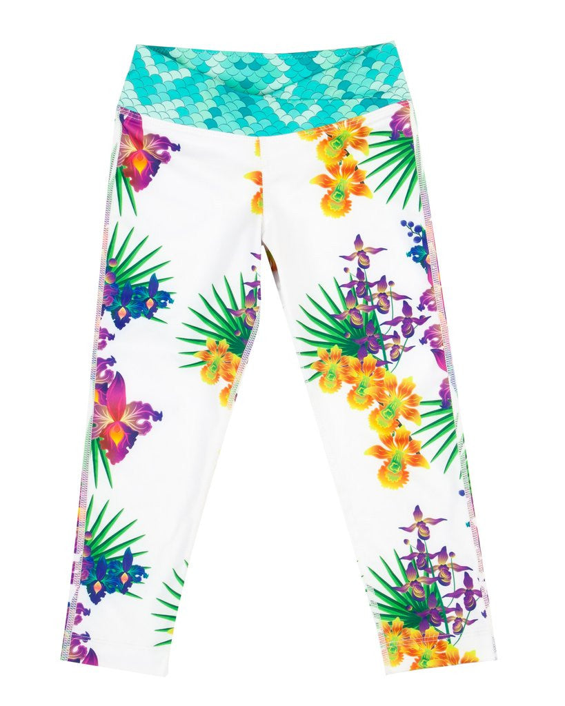 Surfs Up Legging - White