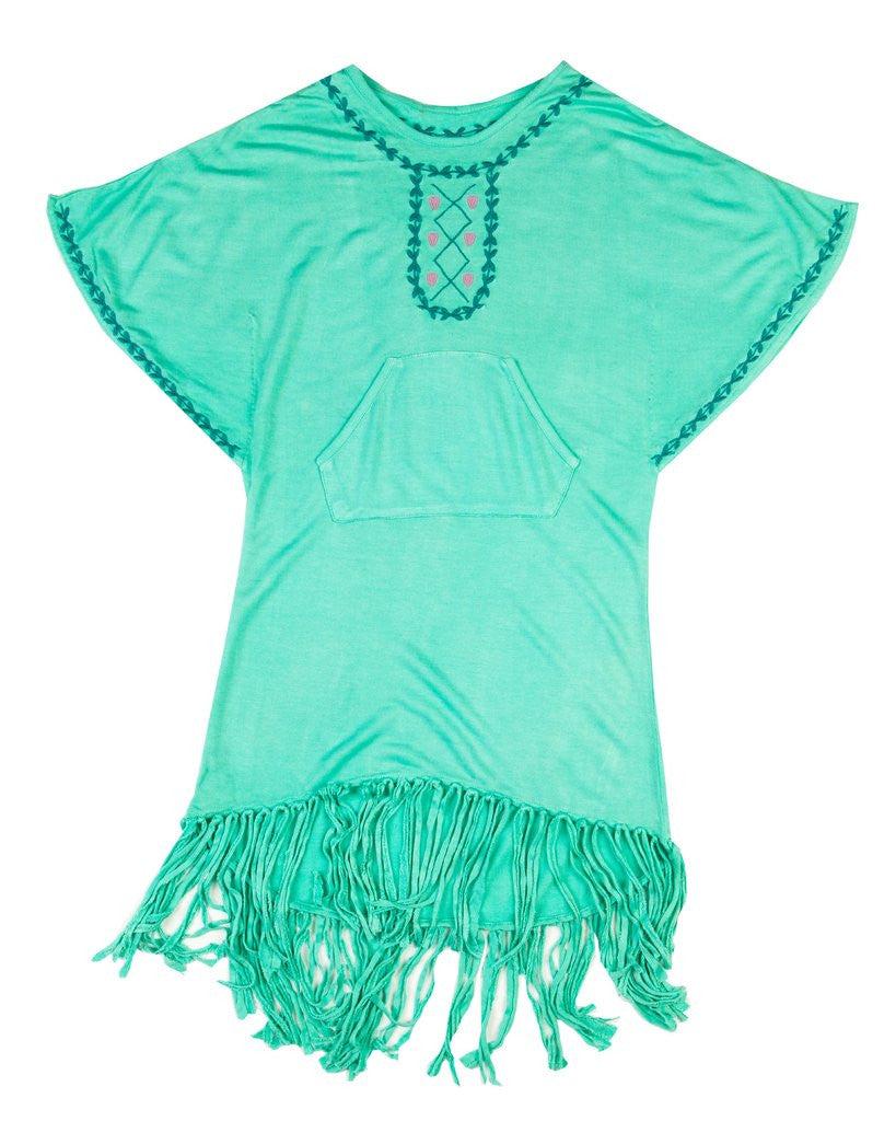 Gypset Poncho Cover Up