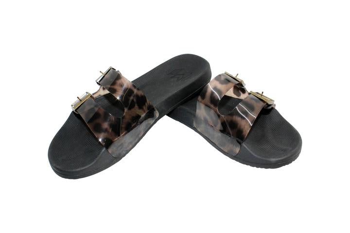 Load image into Gallery viewer, Leopard Print Sandals