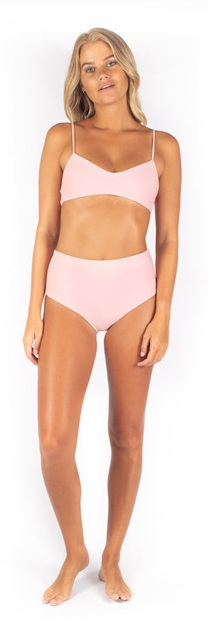Load image into Gallery viewer, Blush pink high waisted bottoms