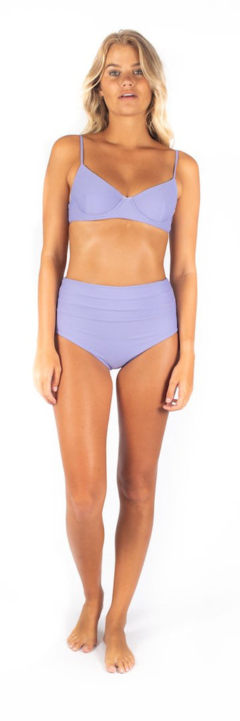 Lavender high waisted bottoms