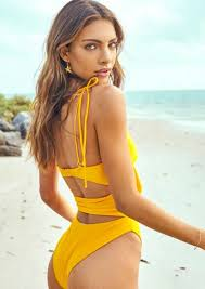 Cut out yellow one piece