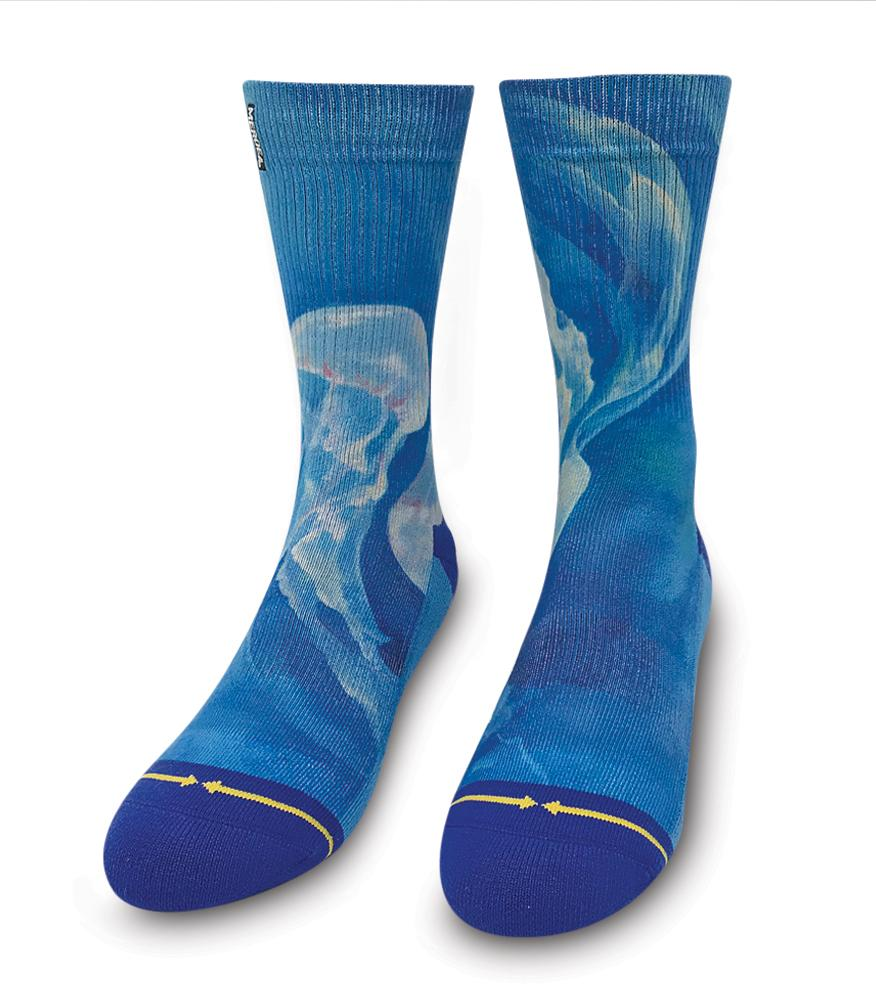 Jelly fish socks
