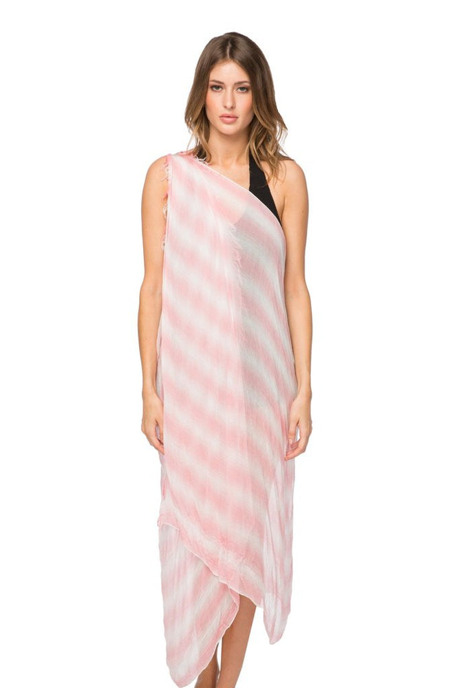 Load image into Gallery viewer, Modal Pin Stripe Free Spirit Vest / Peach