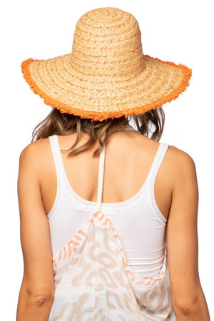 Load image into Gallery viewer, Sydney Hat in Tangerine