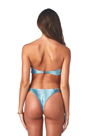 Load image into Gallery viewer, Denim bandeau