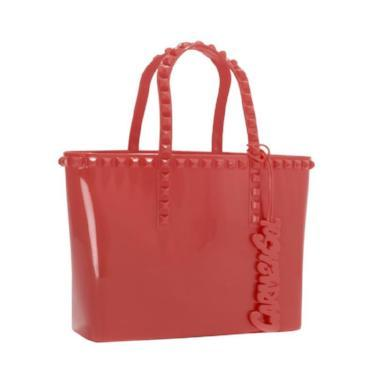 Load image into Gallery viewer, Red mini tote bag