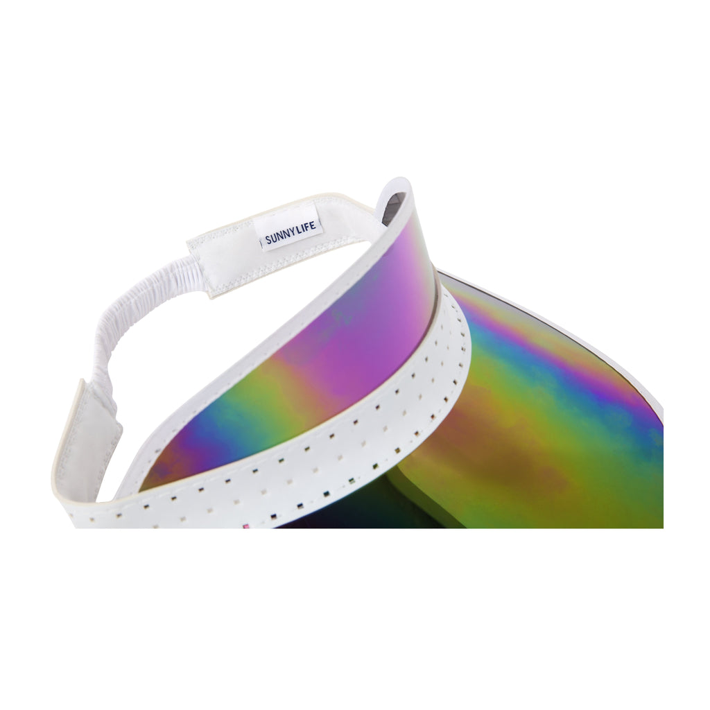Retro Sun Visor | Midnight Iridescent