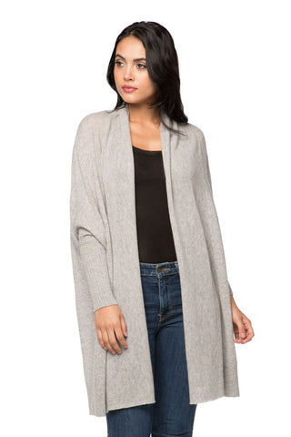Cocoon shawl jacket
