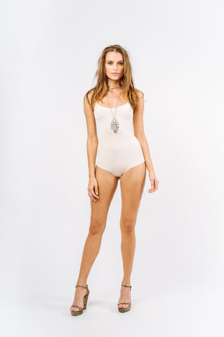 Nude one piece