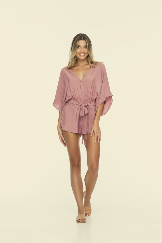 Sunday Romper Orchid