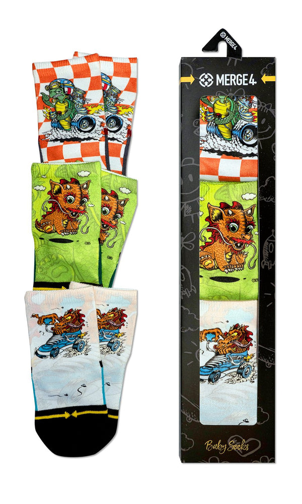 Load image into Gallery viewer, Steve Caballero 3 pck sock