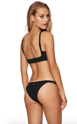 Rib tide bottoms black