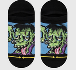 Frankenstein Skater Socks
