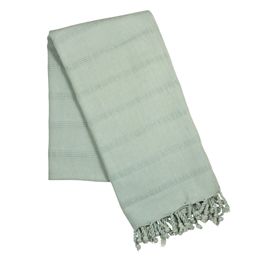 Light blue stone wash turkish towel
