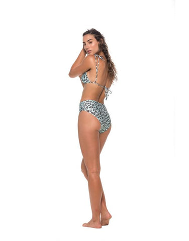 Jaguar Print High Waisted Bottom