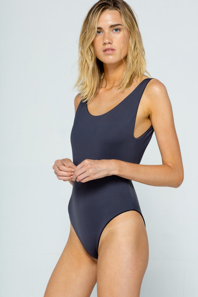 Azar Onyx Reversible One Piece