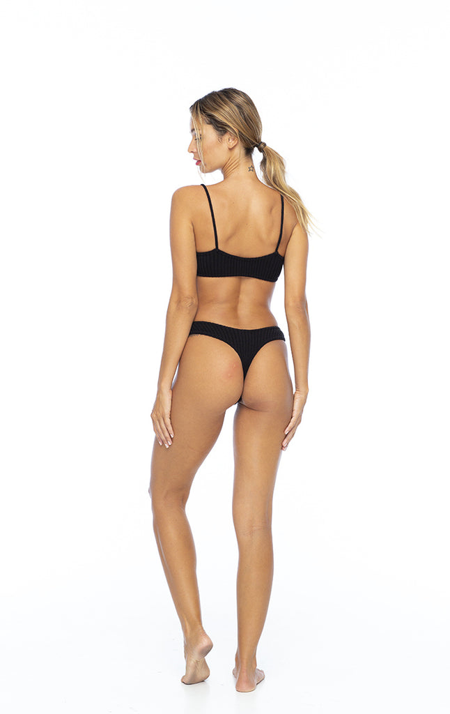 Basic black bottom