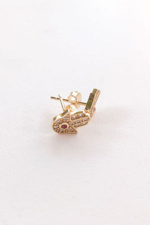Load image into Gallery viewer, Gold Stud Earrings