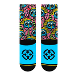 Colorful Owl Crew Socks