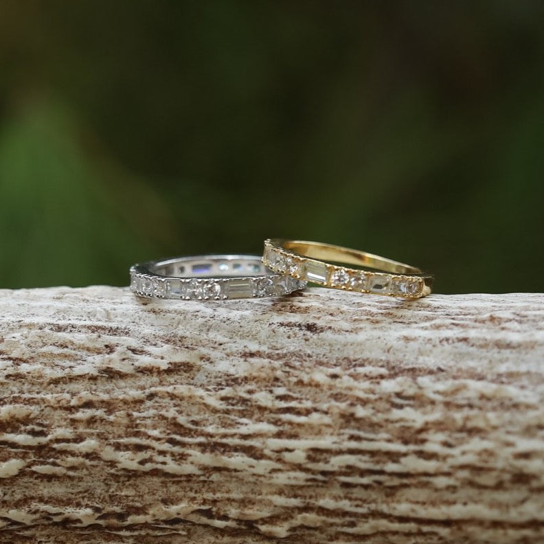 The Baguette Stacking Ring - BRAND NEW!