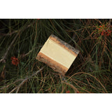 Wood Log Ring Box - Cottonwood Tree - Wedding Ring Box