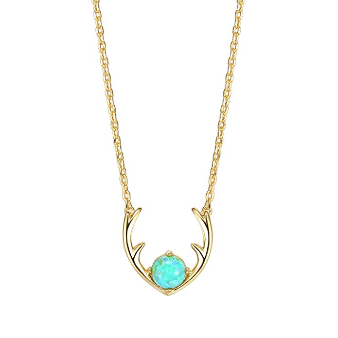 The Antler & Opal Antler Necklace -  BRAND NEW!
