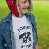 Young, Wild & Free - Youth & Baby Shirt